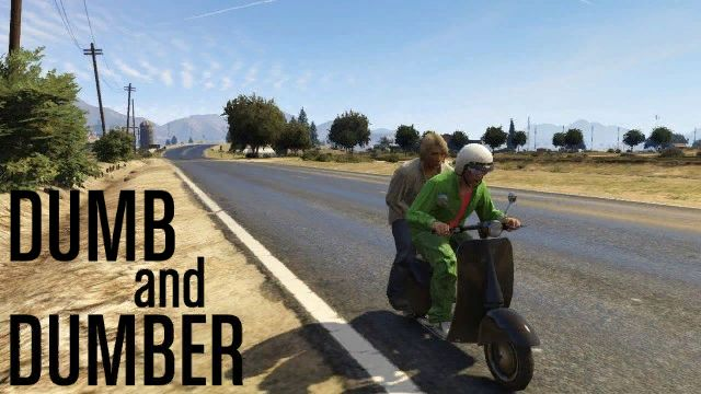 Harry and Lloyd in Blaine County - there's a scary thought!