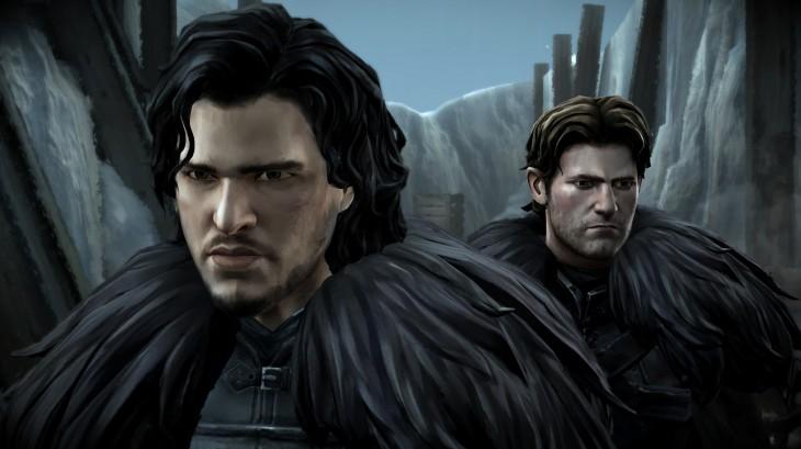 Game of Thrones Episode Two - Jon Snow & Gared