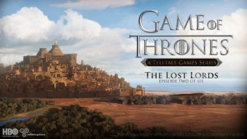 Game of Thrones Episode Two cover