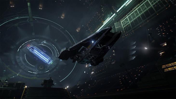 Elite Dangerous - Space Station