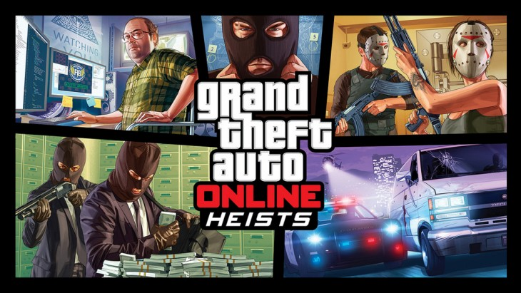 Grand Theft Auto Online Heists