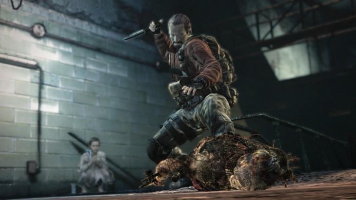 Resident Evil: Revelations 2 - Barry and Natalia