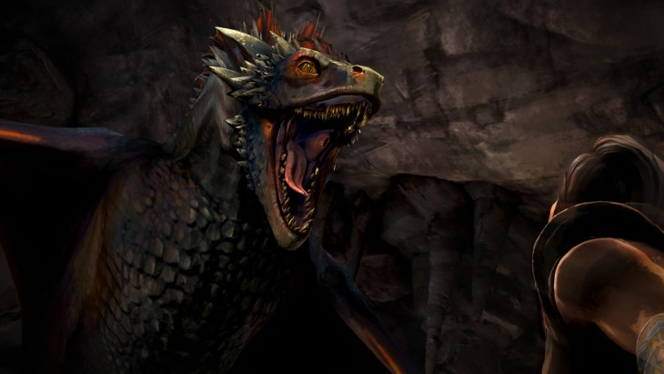 Game of Thrones drogon cave