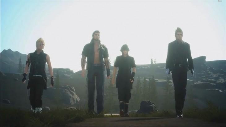 Final Fantasy XV group