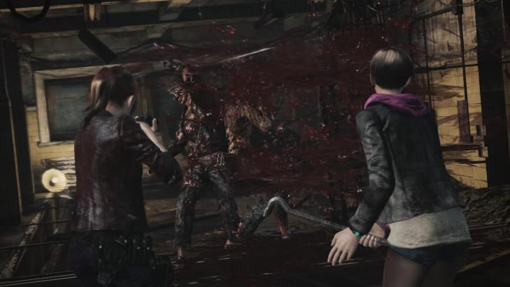 Resident Evil: Revelations 2 - zombie attack
