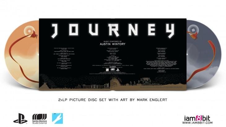 Journey vinyl gatefold jacket