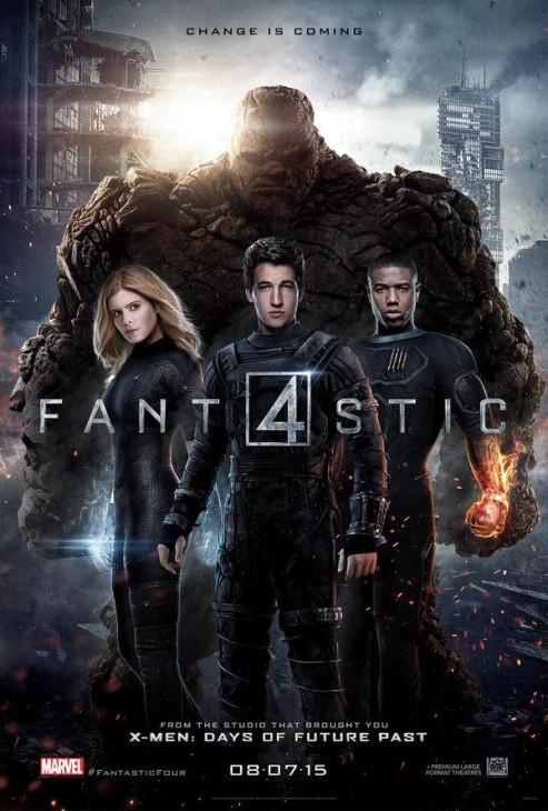 Fantastic Four movie poster 2015