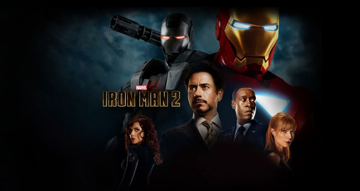 Marvel Cinematic Universe Ironman 2