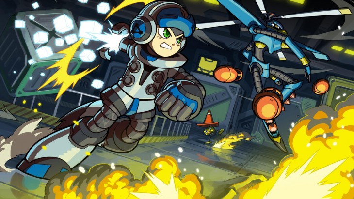 mighty no. 9 art