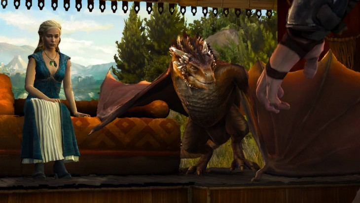 Game of Thrones Episode 4 - Dany and Drogon