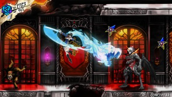 bloodstained - ritual of the night concept