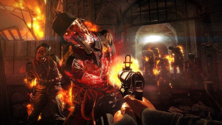 Nazi zombies take center stage in the second half of the campaign.