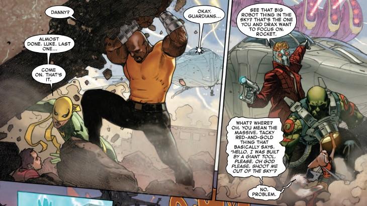 secret wars #1 panel 02