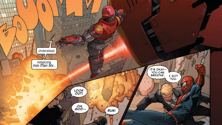 secret wars #1 panel 01