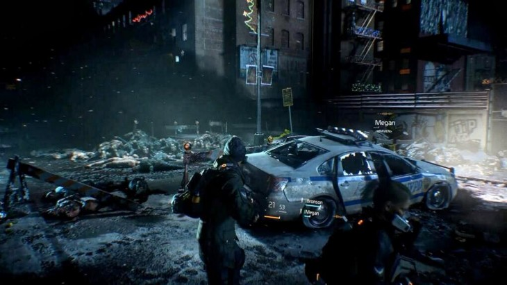 The Division streets