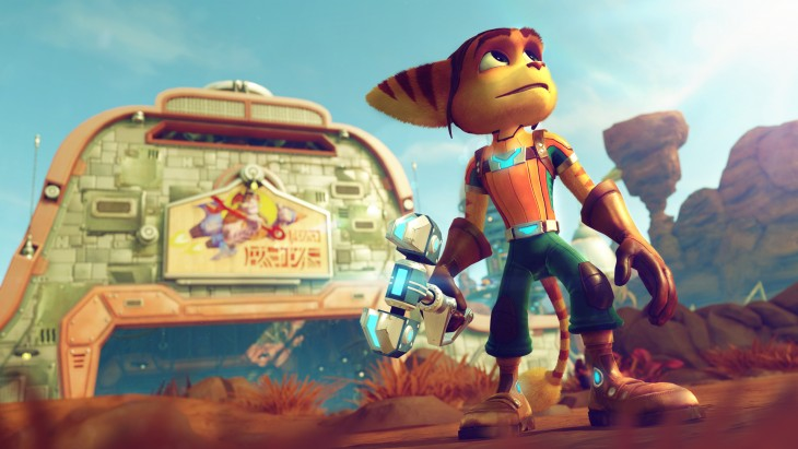Ratchet & Clank PS4 screen 01