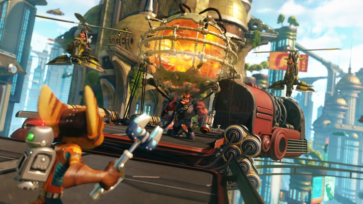 ratchet and clank ps4 image 3