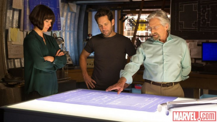 Ant-Man - Going over the plan