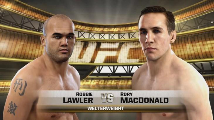 Lawler vs. MacDonald ufc 189