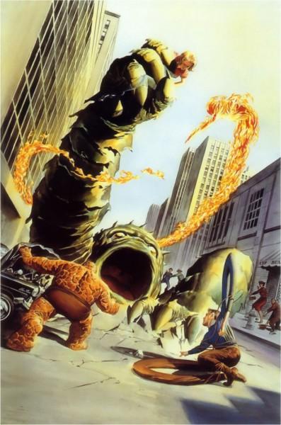 Fantastic Four #1 Alex Ross