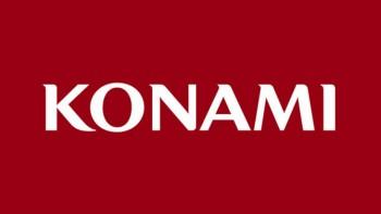 Konami logo red