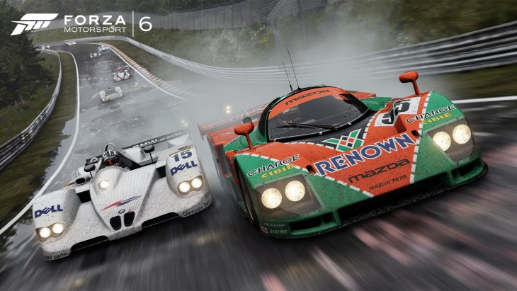Racing in the rain is easily the most challenging aspect about this year's game.