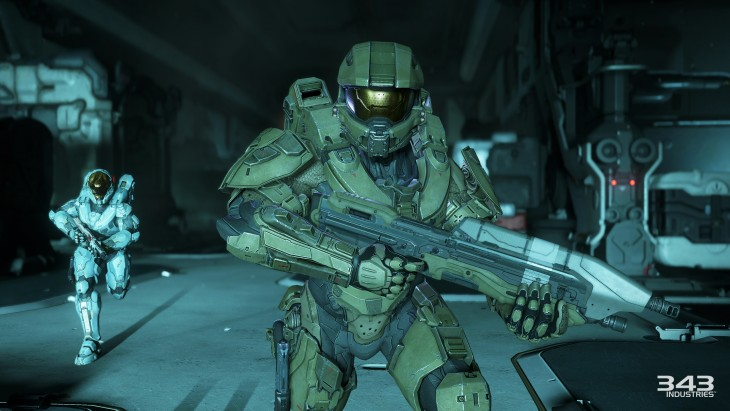 Master chief isn't as prominently featured in the campaign as he should be.
