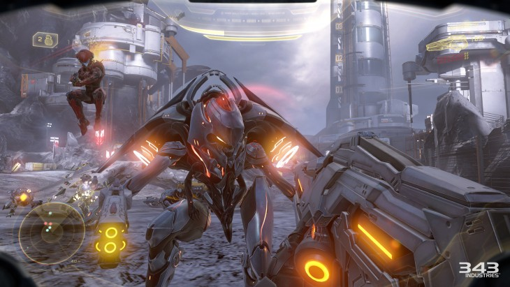 Co-op campaign is the best way to experience Halo 5.