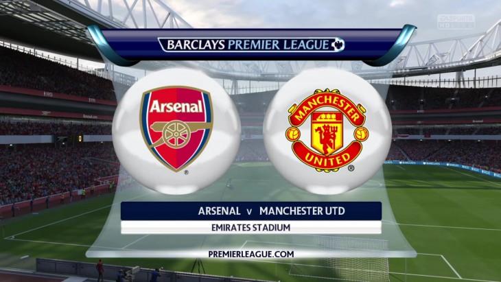 CPU Prediction – Arsenal vs. Man Utd – Barclays Premier League 2015/16