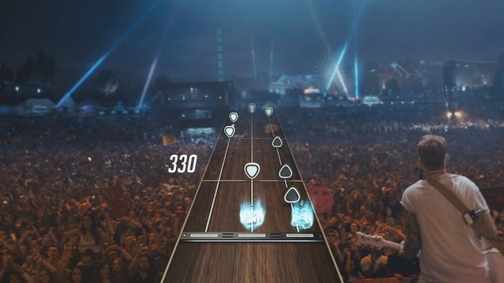 guitar hero live screenshot crowd
