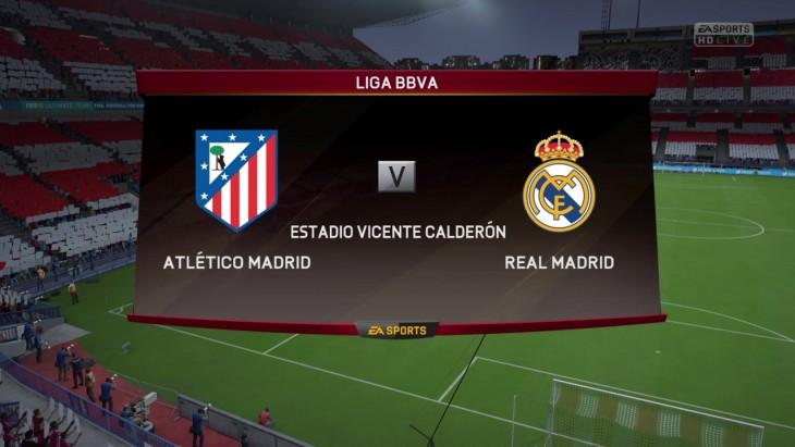 CPU Prediction – Atletico Madrid vs. Real Madrid – La Liga 2015/16