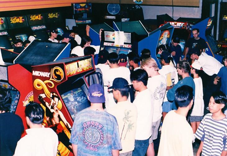 90s arcade