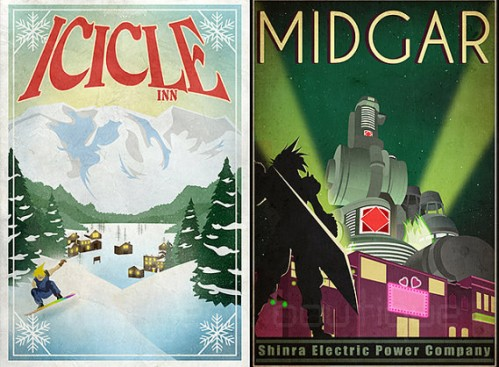 FF Travel Posters