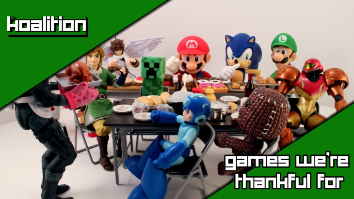 The Koalition - Games we're thankful for
