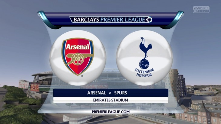 Arsenal vs. Tottenham Hotspur