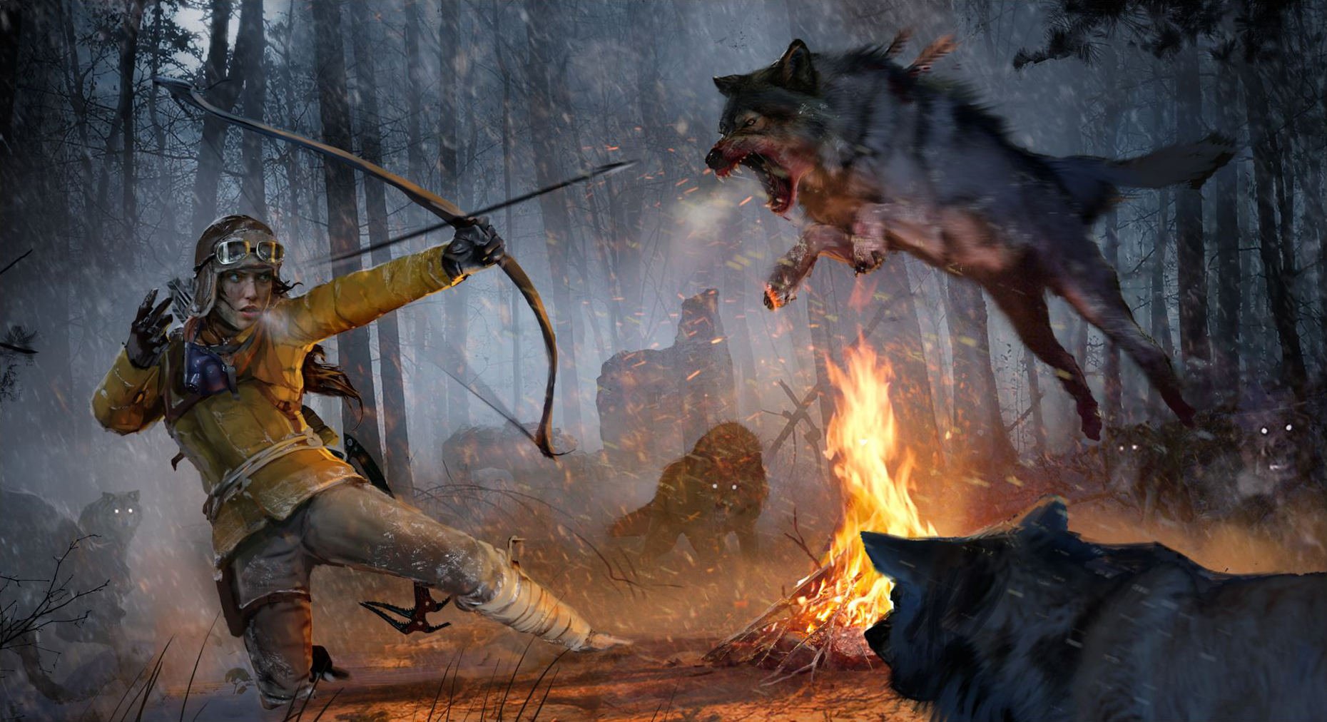 rise of the tomb raider endurance mode now available gameplay footage