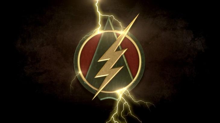 Flash/Arrow logo by David M. Jones