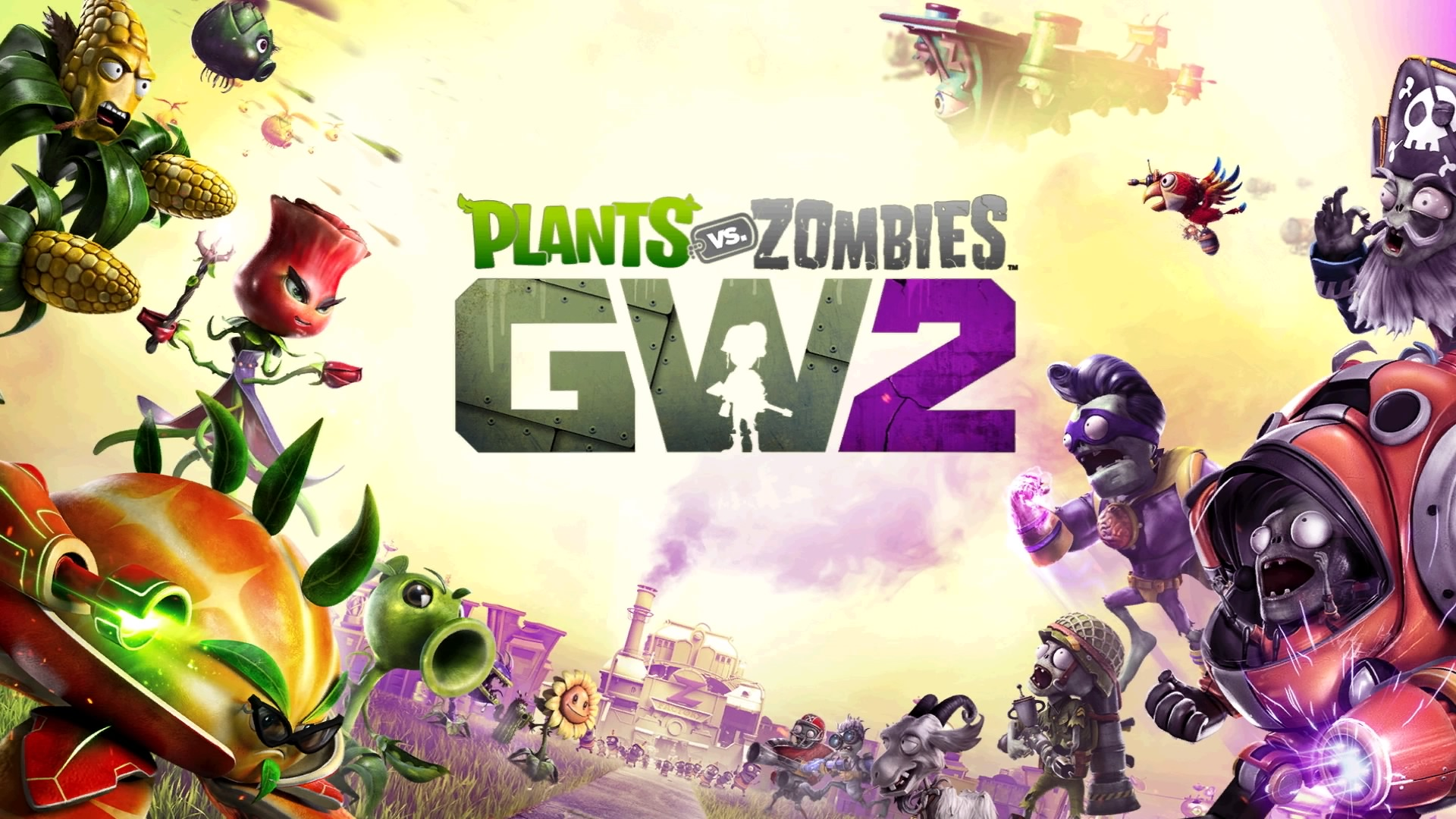 Plants Vs Zombies Garden Warfare 2 Review Expanding On A Solid Foundation The Koalition