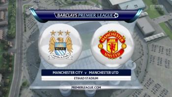 Man City vs. Man Utd - Barclays Premier League 2015/16