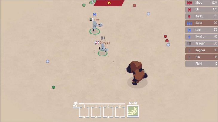 Some action from Wilds.io