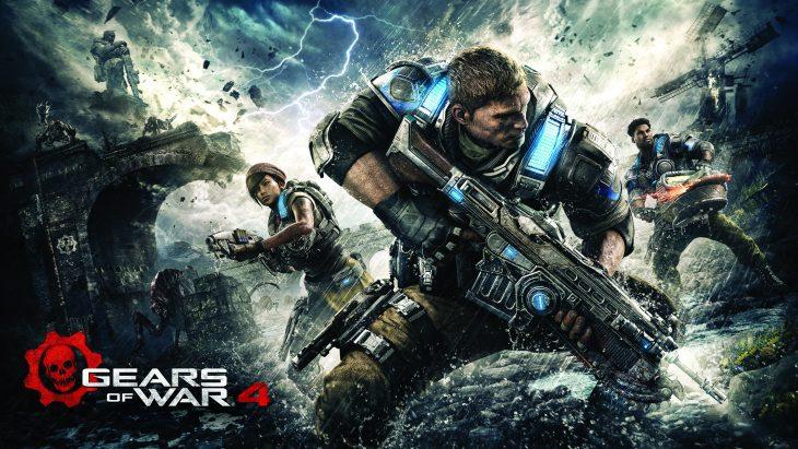 Gears of War 4 Wall