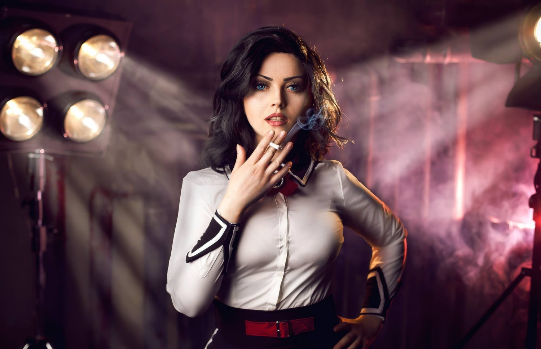 Eve Beauregard as Elizabeth from Bioshock: Infinite