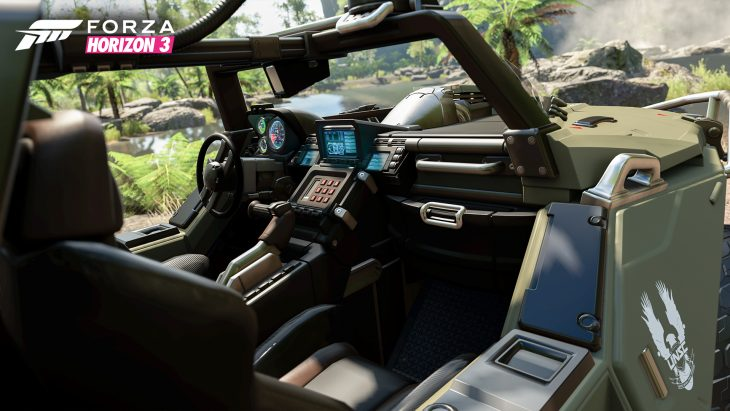 Halo Warthog interior shot