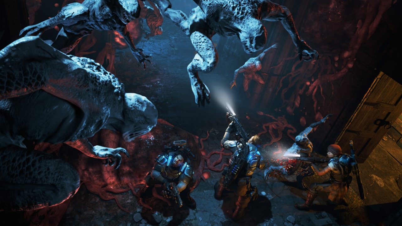 Mystery and horror are present but survival in the main driving force behind Gears of War 4.