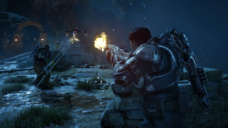 Mystery and horror take a backseat to survival in Gears of War 4.