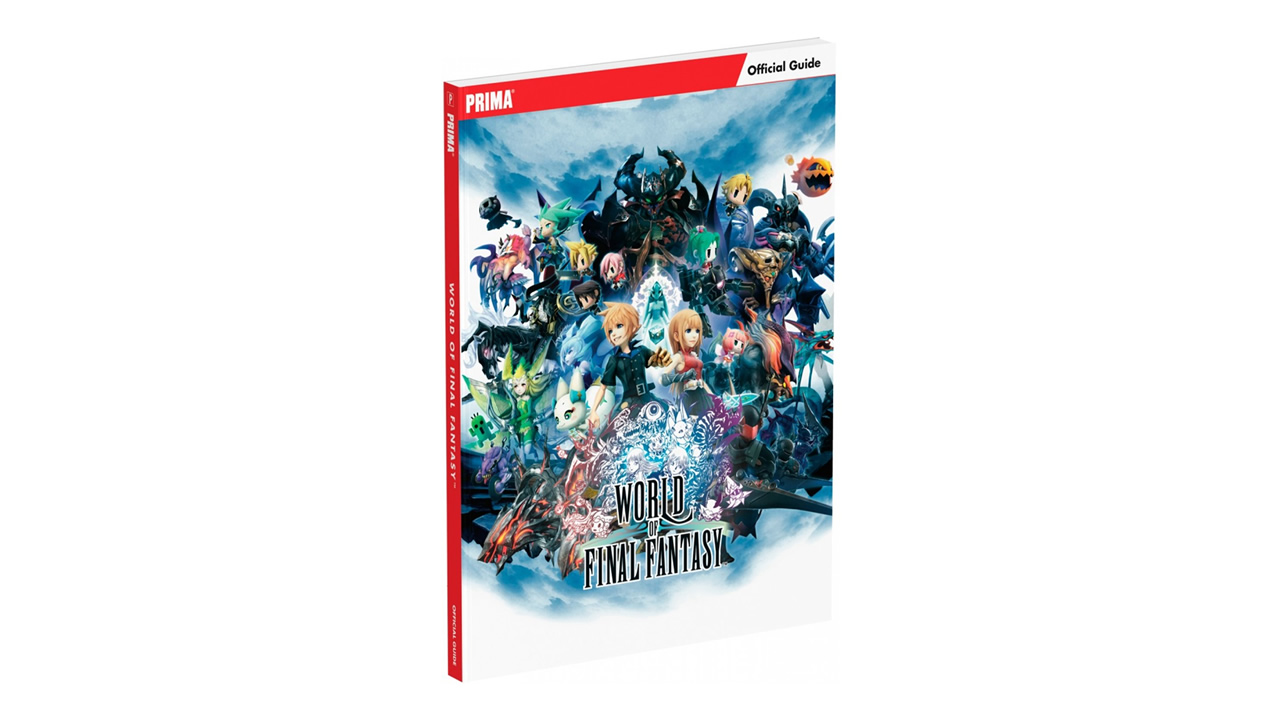 World of Final Fantasy Prima strategy guide cover