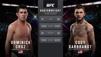 UFC 207 Cruz Garbrandt