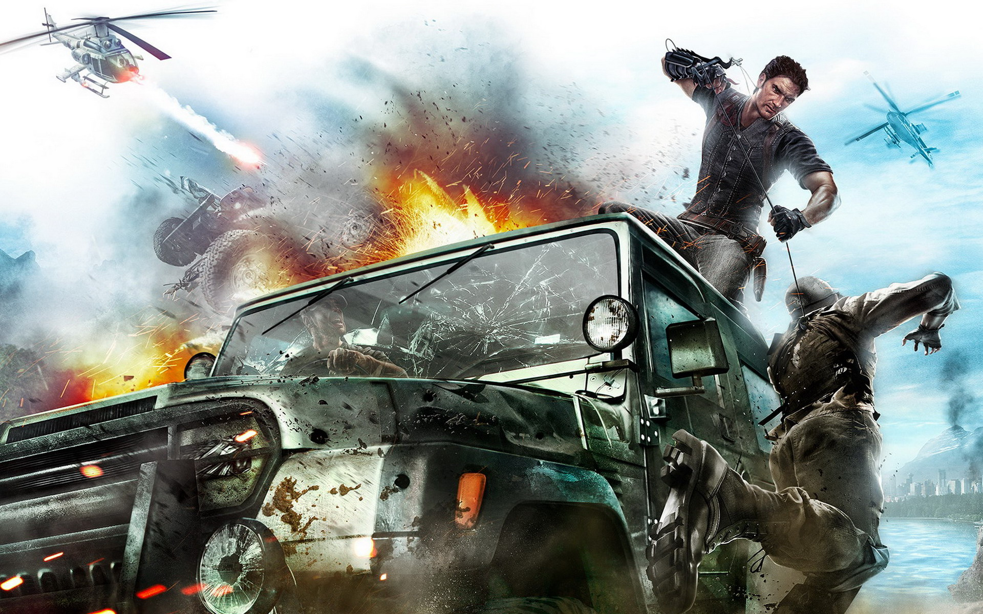 Just Cause 2 Multiplayer Mod Releasing On Steam – The Koalition
