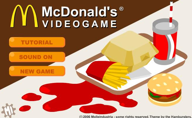 Mc Donals Game