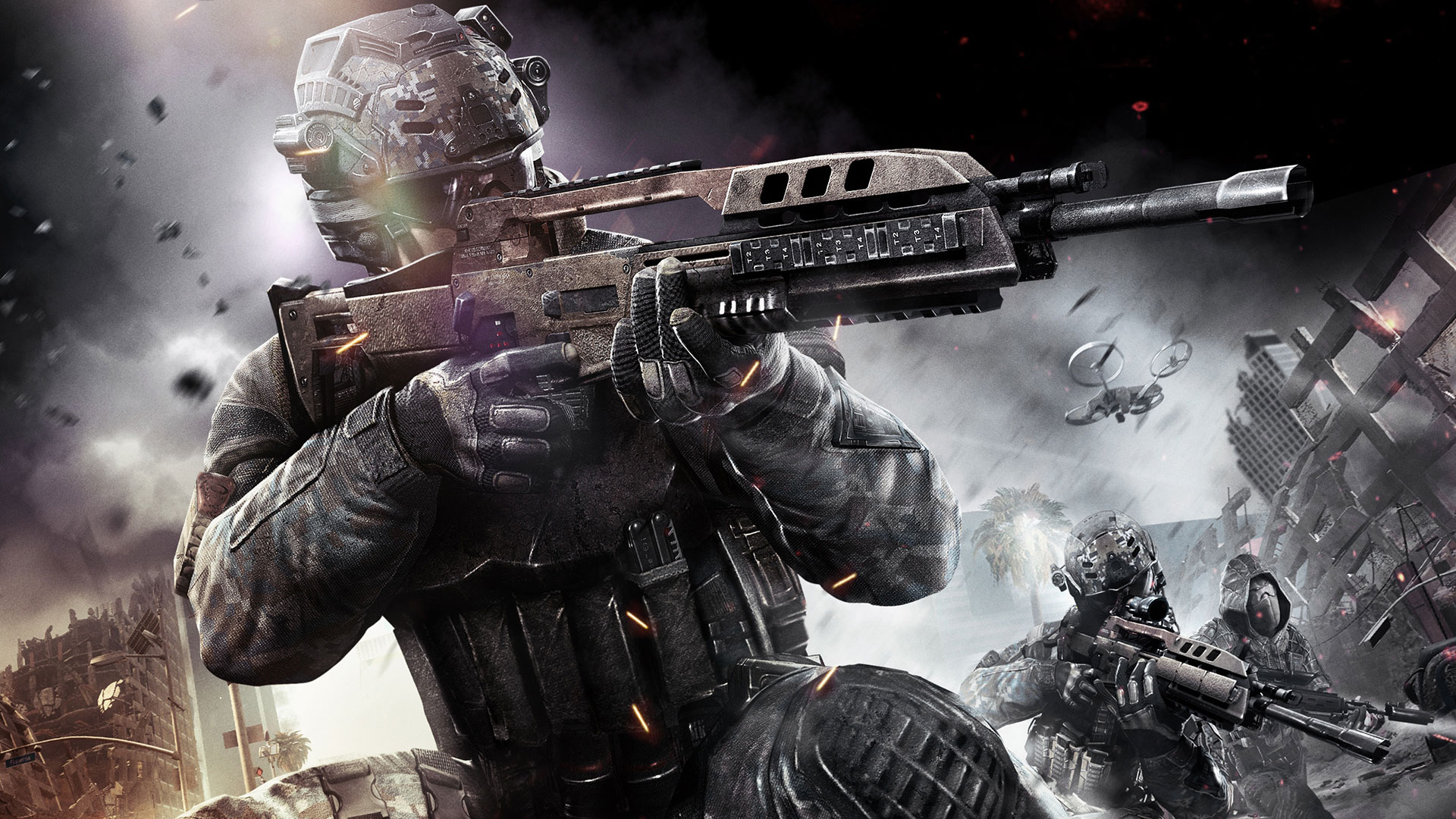 Call Of Duty Bo2 Wallpaper: Black Ops 2 Uprising DLC Video Previewed